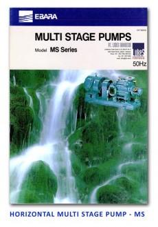 Ebara Horizontal Multi Stage Pump - MS