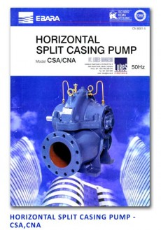 Ebara Horizontal Split Casing Pump - CSA-CNA