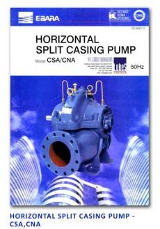 Ebara Horizontal Split Casing Pump - CSA-CNA