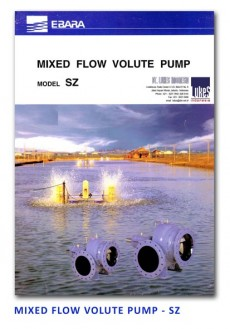 Ebara Mixed Flow Volute Pump - SZ