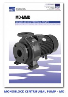 Ebara Monoblock Centrifugal Pump - MD
