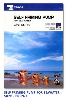 Ebara Self Priming Pump For Sea Water - SQPB Bronze