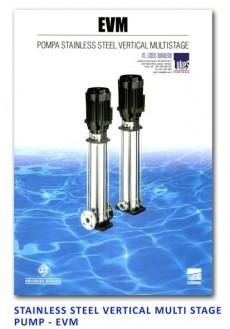 Ebara Stainless Steel Vertical Multi Stage Pump - EVM