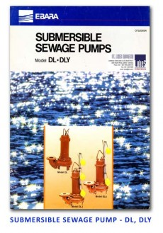 Ebara Submersible Sewage Pump - DL-DLY