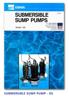 Ebara Submersible Sump Pump - DS