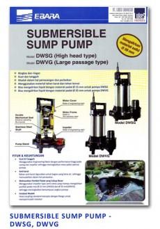 Ebara Submersible Sump Pump - DWSG-DWVG
