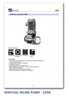 Ebara Vertical Inline Pump - LPDA