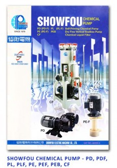 Showfou Chemical Pump - PD-PDF-PL-PLF-PE-PEF-PEB-CF