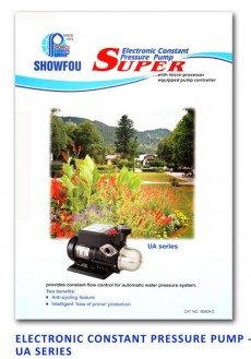 Showfou Electronic Constant Pressure Pump - UA Series