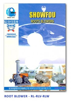 Showfou Root Blower - RL-RLV-RLW