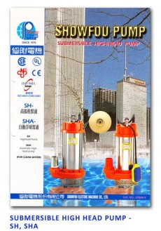Showfou Submersible High Head Pump - SH-SHA