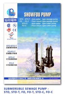 Showfou Submersible Sewage Pump - STO-STO-T-FO-FO-T-STO-C-FO-C