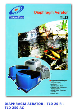 Tsurumi Diaphragm Aerator - TLD 25 R - TLD 250 AC