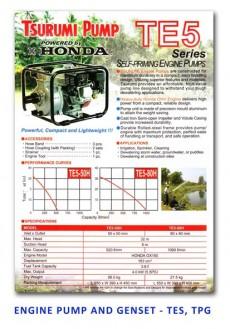 Tsurumi Engine Pump and Genset - TES-TPG