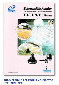 Tsurumi Submersible Aerator and Ejector - TR-TRN-BER