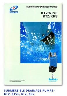 Tsurumi Submersible Drainage Pump - KTV-KTVE-KTZ-KRS