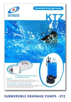 Tsurumi Submersible Drainage Pump - KTZ