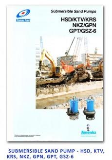 Tsurumi Submersible Sand Pump - HSD-KTV-KRS-NKZ-GPN-GPT-GSZ-6