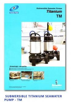 Tsurumi Submersible Seawater Pump - Titanium - TM