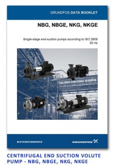 Grundfos Centrifugal End Suction Volute Pump - NBG-NBGE-NKG-NKGE