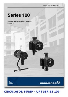 Grundfos Circulator Pump - UPS Series 100