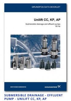 Grundfos Drainage - Effluent Pump - Unilift CC-KP-AP