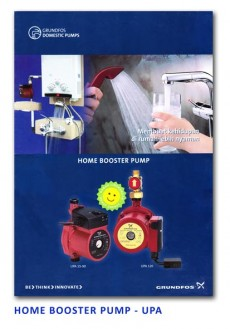 Grundfos Home Booster Pump - UPA