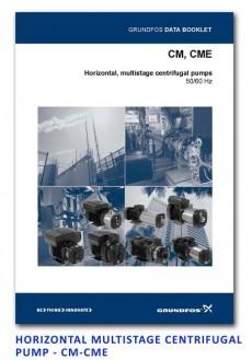 Grundfos Horizontal Multistage Centrifugal Pump - CM-CME