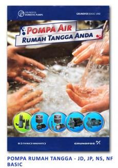 Grundfos Pompa Rumah Tangga - JD-JP-NS-NF BASIC