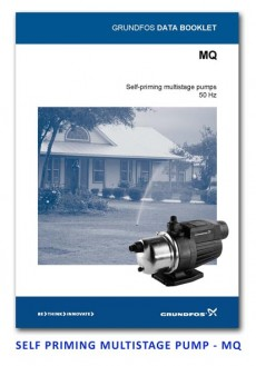 Grundfos Self Priming Multistage Pump - MQ