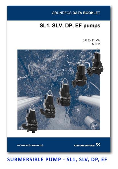 Grundfos Submersible Pump - SL1-SLV-DP-EF