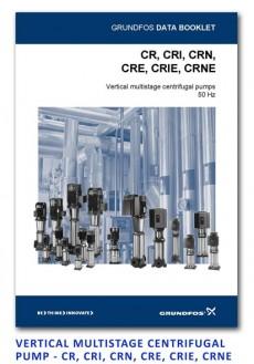 Grundfos Vertical Multistage centrifugal pump - CR-CRI-CRN-CRIE-CRNE