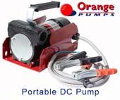 Orange DC Vane Pump - 1
