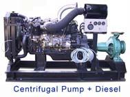 Pompa Centrifugal Dengan Penggerak Mesin Diesel