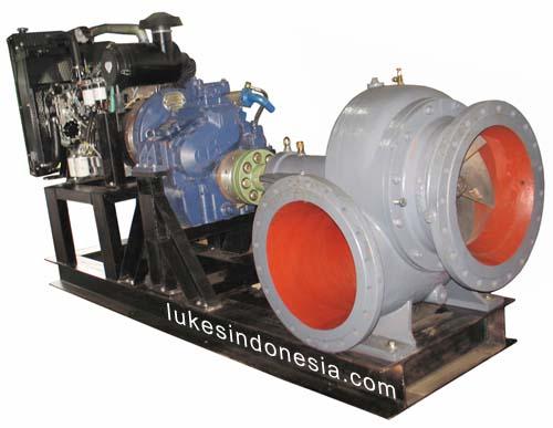 Ebara 500 SZ Dengan Mesin Diesel