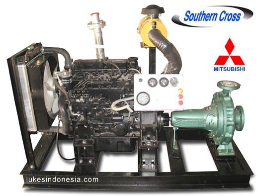Diesel Engine Driven Pump - Mitsubishi S4S