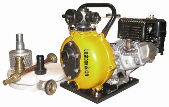 Pompa Portable  Pemadam Kebakaran + Honda Engine