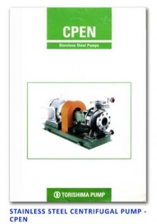 Torishima Stainless Steel Centrifugal Pump - CPEN
