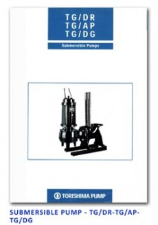 Torishima Submersible Pump - TG-DR-TG-AP-TG-DG