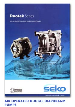 Seko Air Operated Double Diaphragm Pumps - Duotek Series