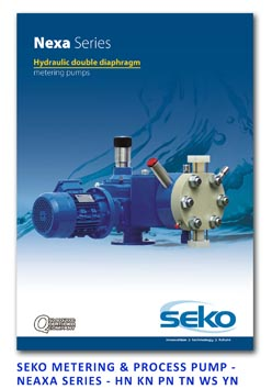 Seko Metering & Process Pump - Nexa Serias - HN KN PN TN WS YN