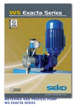 Seko Metering & Process Pump - WS Exacta Series