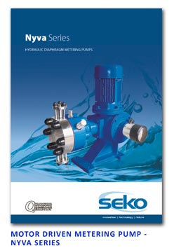 Seko Motor Driven Metering Pump - Nyva Series