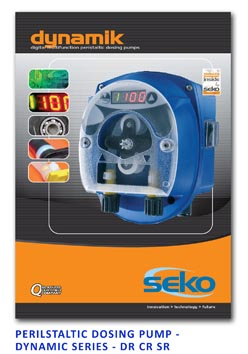 Seko Peristaltic Dosing Pump - Dynamik Series - DR CR SR