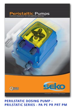 Seko Peristaltic Dosing Pump - Peristaltic Series - PA PE PR PRT PM