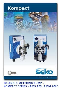 Seko Solenoid Metering Pump - Kompact Series - AMS AML AMM AMC