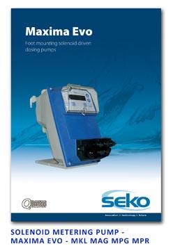 Seko Solenoid Metering Pump - Maxima EVO Series - MKL MAG MPG MPR