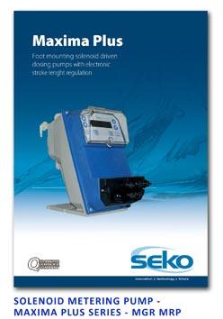 Seko Solenoid Metering Pump - Maxima Plus Series - MGR MRP