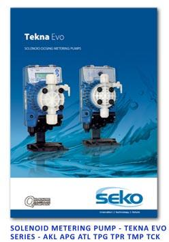 Seko Solenoid Metering Pump- Tekna EVO Series - AKL APG ATL TPG TPR TMP TCK