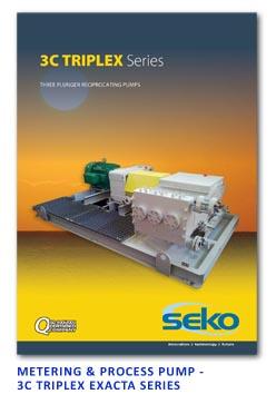 Sekol Metering & Process Pump - 3C Triplex Exacta Series